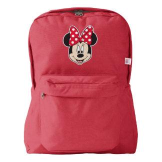 Red Minnie | Polka Dots Backpack