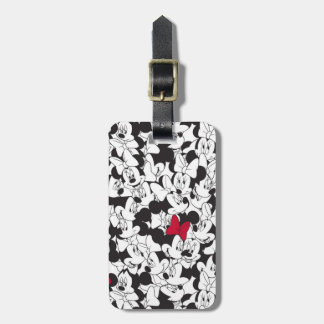 Red Minnie | Red Bow Pattern Bag Tag