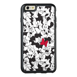 Red Minnie | Red Bow Pattern OtterBox iPhone 6/6s Plus Case