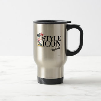 Red Minnie | Style Icon 15 Oz Stainless Steel Travel Mug