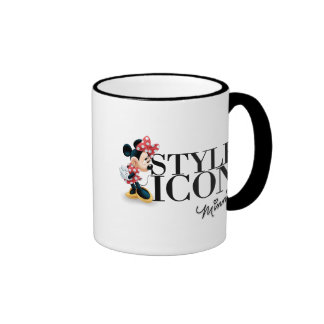 Red Minnie | Style Icon Ringer Coffee Mug