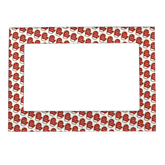 Red Mitten Frosted Sugar Cookie Christmas Baking Magnetic Picture Frame