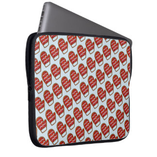 Red Mitten Frosted Sugar Cookie Christmas Winter Laptop Sleeve