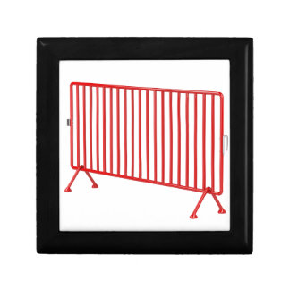 Red mobile fence gift box