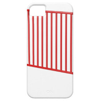 Red mobile fence iPhone 5 covers