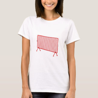 Red mobile fence T-Shirt
