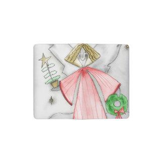 Red Mod Angel Pocket Moleskine Notebook