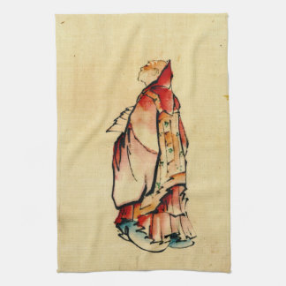 Red Monk 1840 Kitchen Towel