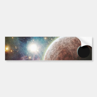 Red Moon Bumper Stickers