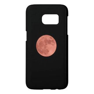 Red Moon Samsung Galaxy S7 Case