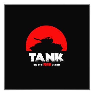 Red Moon Tank 35.6 cm x 28 cm Photo Paper