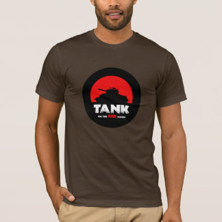 Red Moon Tank Men's Basic Super Soft T-Shirt