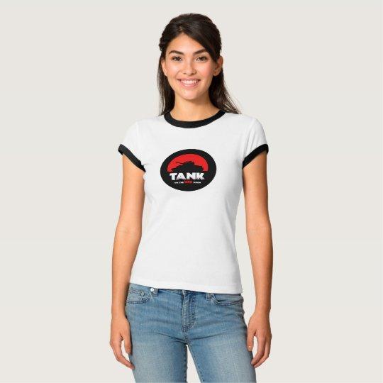 Red Moon Tank Women's Bella+Canvas Ringer T-Shirt