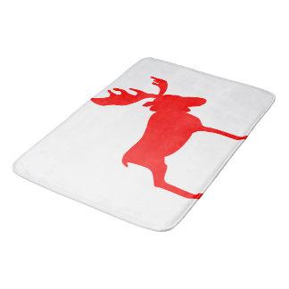 Red Moose Bath Mat