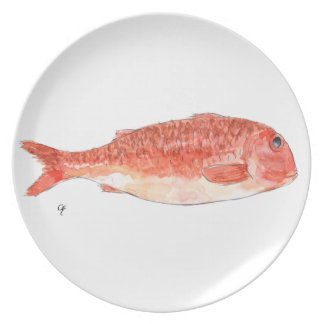 Red mullet plate
