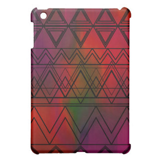 Red Multi Tribal iPad Mini Cover