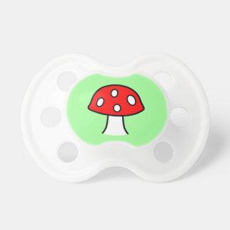 Red Mushroom Pacifier