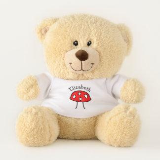Red Mushroom Teddy Bear