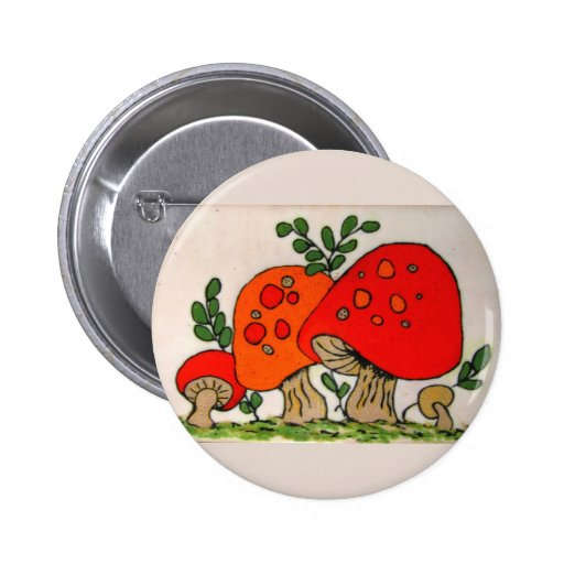 Red Mushrooms ~ button