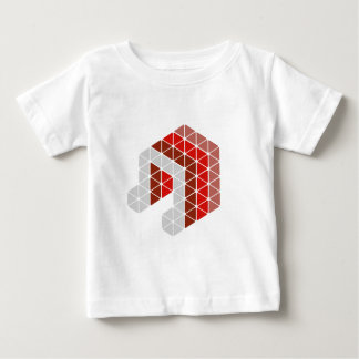 Red Music Note Baby T-Shirt