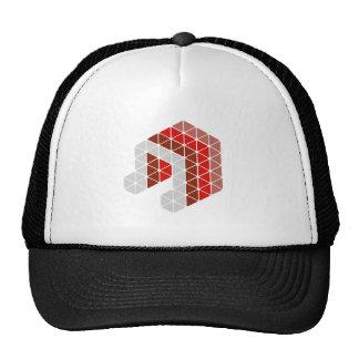 Red Music Note Trucker Hat
