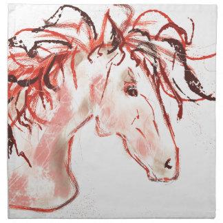 Red Mustang Napkin