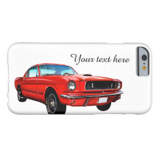 Red Mustang Personalized iPhone 6 Case Barely There iPhone 6 Case