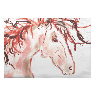 Red Mustang Placemat