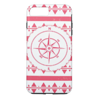 Red Nautical iPhone 7 Case