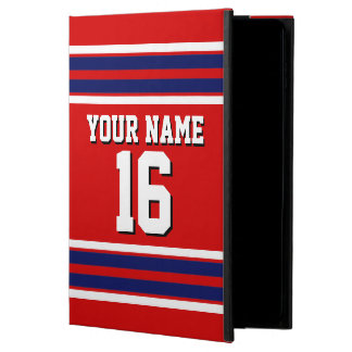 Red Navy Blue White Team Jersey Custom Number Name