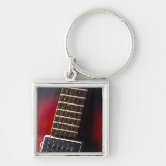 Red Neck HollowBody Guitar Pick-up Keychain