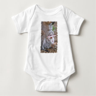 Red-necked wallaby and its joey baby bodysuit