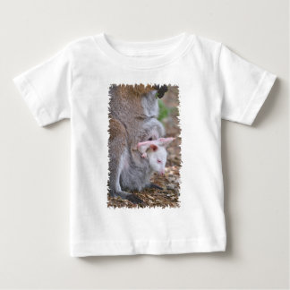 Red-necked wallaby and its joey baby T-Shirt