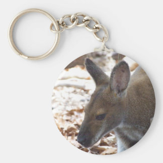 Red-necked Wallaby Key Ring Key Chains