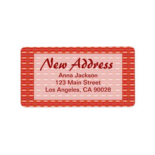 Red New Address