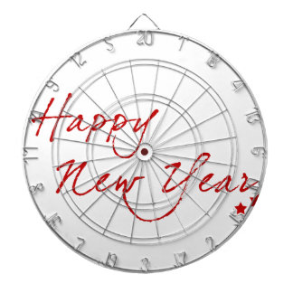 Red New-Year #2 Dartboards