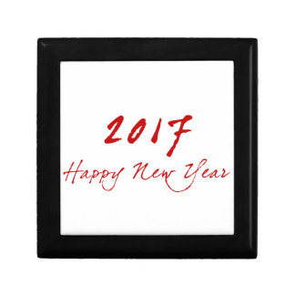 Red New-Year Gift Box
