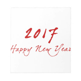 Red New-Year Notepad