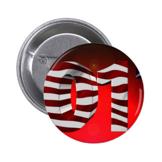 Red New-Years-Day 2 Inch Round Button