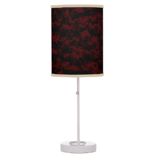 Red Night Mountains Decorative Lamp Shades