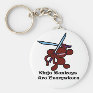 Red Ninja Overhead Keychain