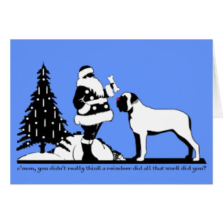 Red-Nosed Mastiff Card