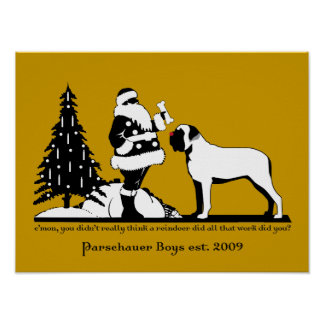 Red nosed Parchauser Poster