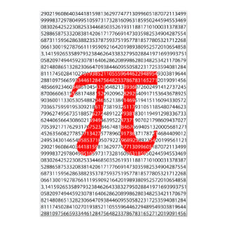 Red Number pi is a mathematical constant symbol Card