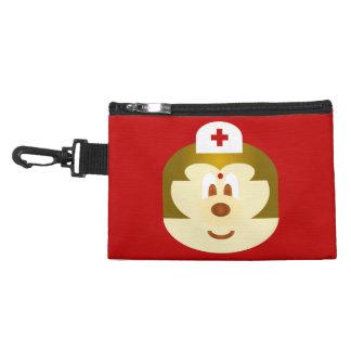 Red Nurse 鮑 鮑 Gray Clip Bag