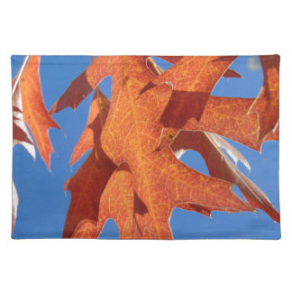 Red Oak Leaves Placemat