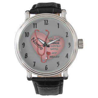 Red Ob Gyn Nurse Watch