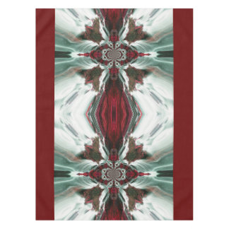 Red Ocean Breeze Table Cloth Tablecloth