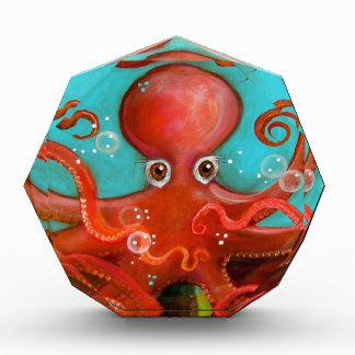 Red Octopus 1 Design