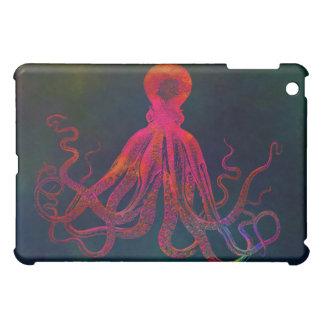 Red Octopus iPad Case 1